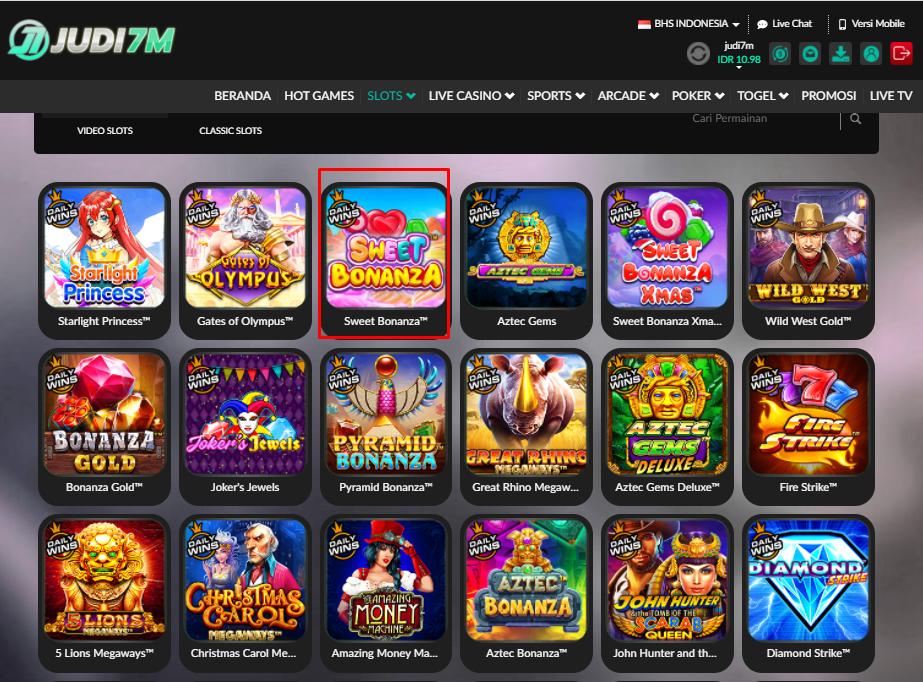 Permainan Slot Yang Sering Menang