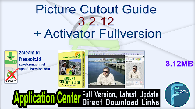 Picture Cutout Guide 3.2.12 + Activator Fullversion