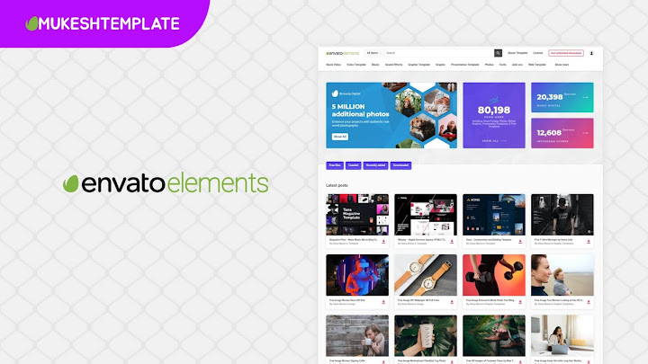 Binuang Digital - Envato Elements Like Template For Blogger