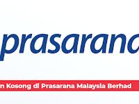 Jawatan Kosong di Prasarana Malaysia Berhad