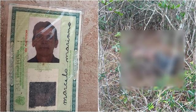 Piatã: Identificado corpo encontrado na localidade do Gritador em Inúbia