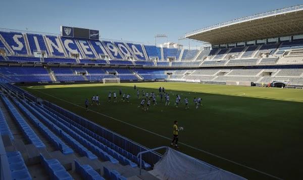 Málaga, el entrenamiento del martes será a puerta abierta para la afición