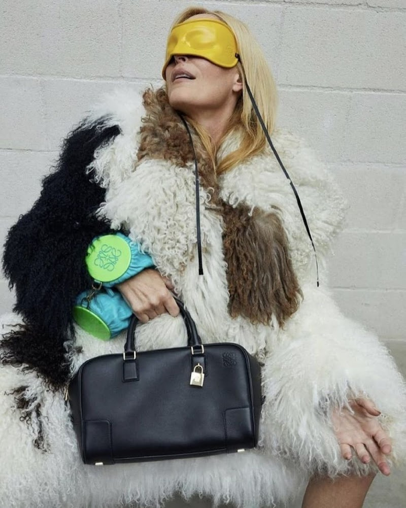 Gillian Anderson Clicked  for Loewe, 2021