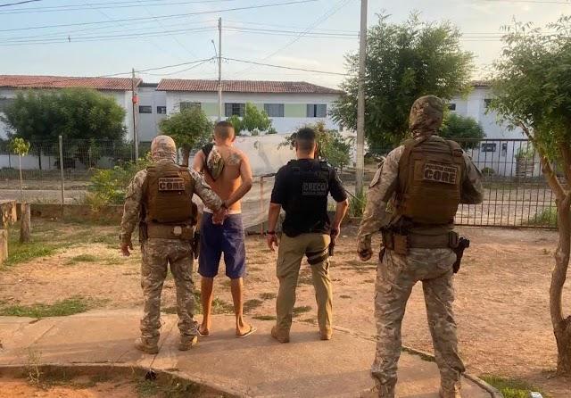 GRECO prende foragido do sistema prisional no Residencial Torquato Neto
