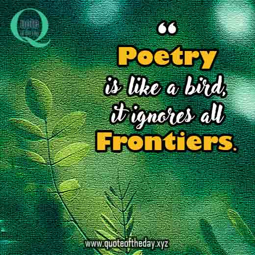 Quotes about poetry