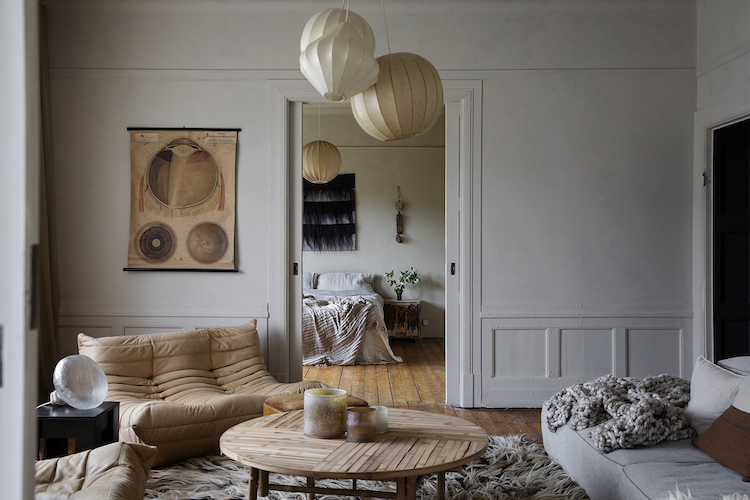The Beautiful, Earthy Home of a Swedish Florist