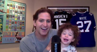 Picture of Peter Schrager with son Mel