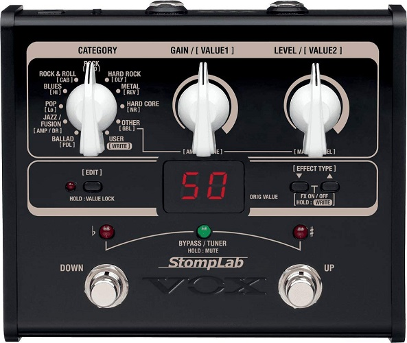 VOX StompLab 1G - Guitar Multi-Effects Pedal