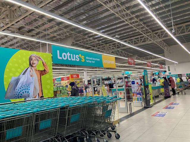 Mudahnya Shopping Barang di Lotus Menggunakan Aplikasi Tesco Scan&Shop