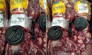 PREÇO DE OURO: Supermercados reforçam segurança com sensores e alarmes para evitar furto de carne