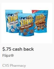 $0.75/1 Flipz ibotta cash back Rebates