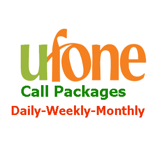 Ufone Call Packages All Network, Daily, Weekly, Monthly