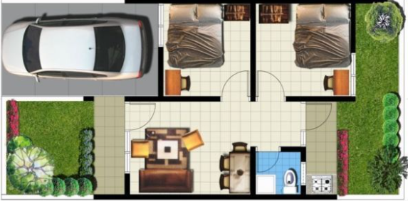 Minimalist House Plan Design