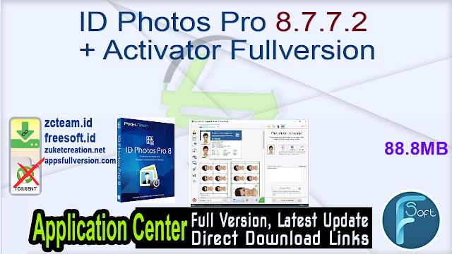 ID Photos Pro 8.7.7.2 + Activator Fullversion