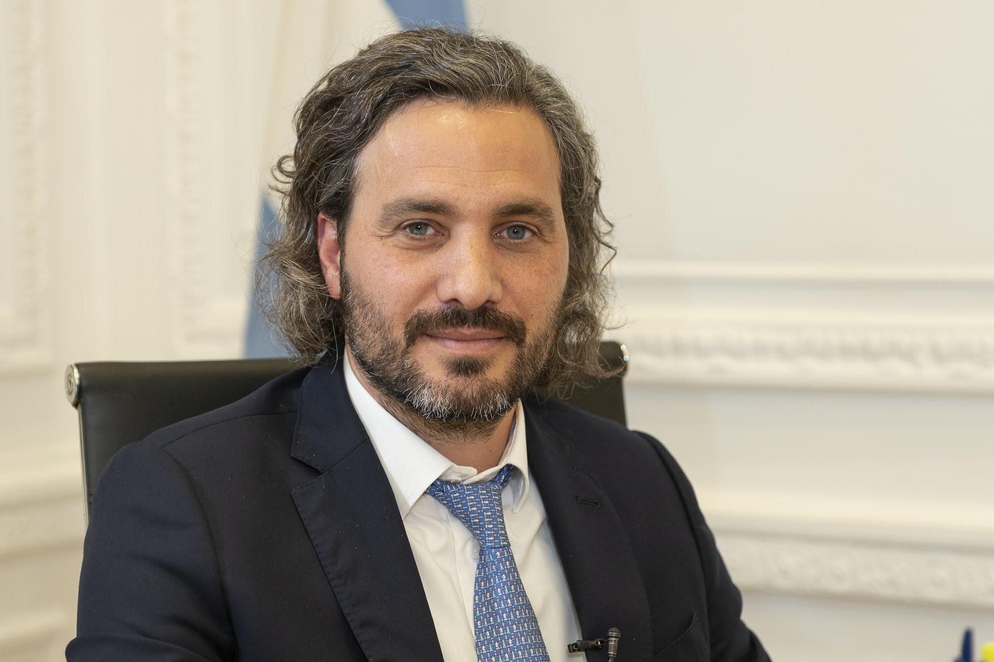 """Santiago Cafiero: """"No hubo más fiestas en Olivos"""""""
