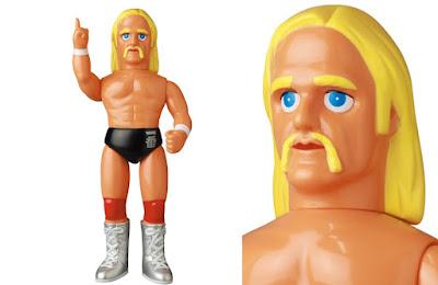 Hulk Hogan First Edition Sofubi Vinyl Figure by Medicom Toy x WWE