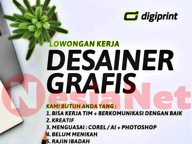 Lowongan Kerja Digiprint Mataram Lombok NTB