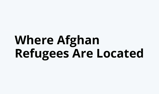 Countries where Afghans seek refuge