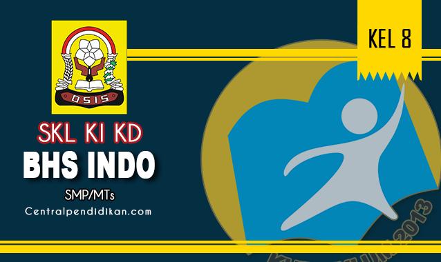 SKL, KI, & KD Bahasa Indonesia SMP Kelas 8 K13 Revisi Th 2021/2022