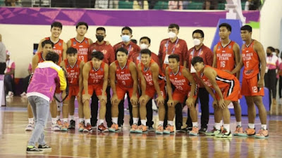 Capaian PON XX Papua Jadi Motivasi Tim Basket Putra Sulut Menatap PON XXI Aceh-Sumut