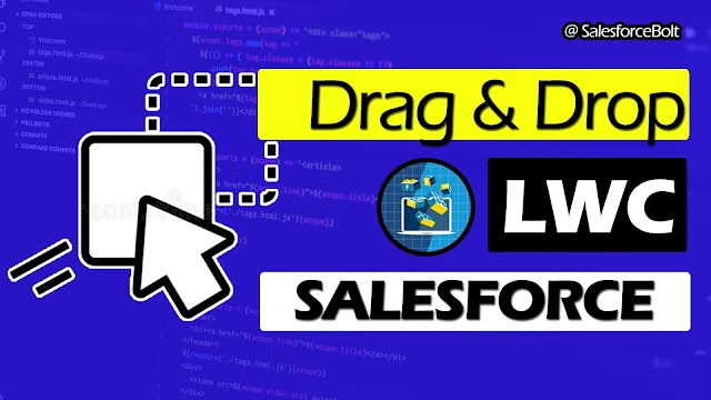 Drag and Drop to reorder table rows in Lightning Web Component Salesforce  ☁️⚡️