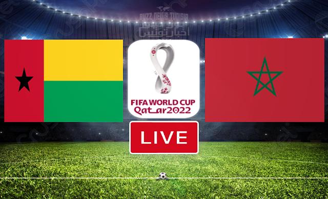 Match Guinea-Bissau vs Morocco Live Stream   FIFA World Cup Qatar 2022 Qualifier