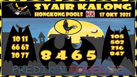 Syair Kalong HK Malam ini 17-10-2021