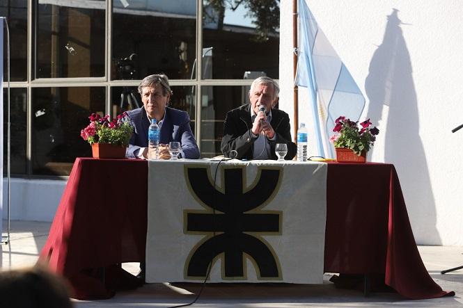 """El futuro llegó: Félix y """"El Bocha"""" Pessano presentaron dos nuevas carreras públicas claves para el futuro de muchos jóvenes"""