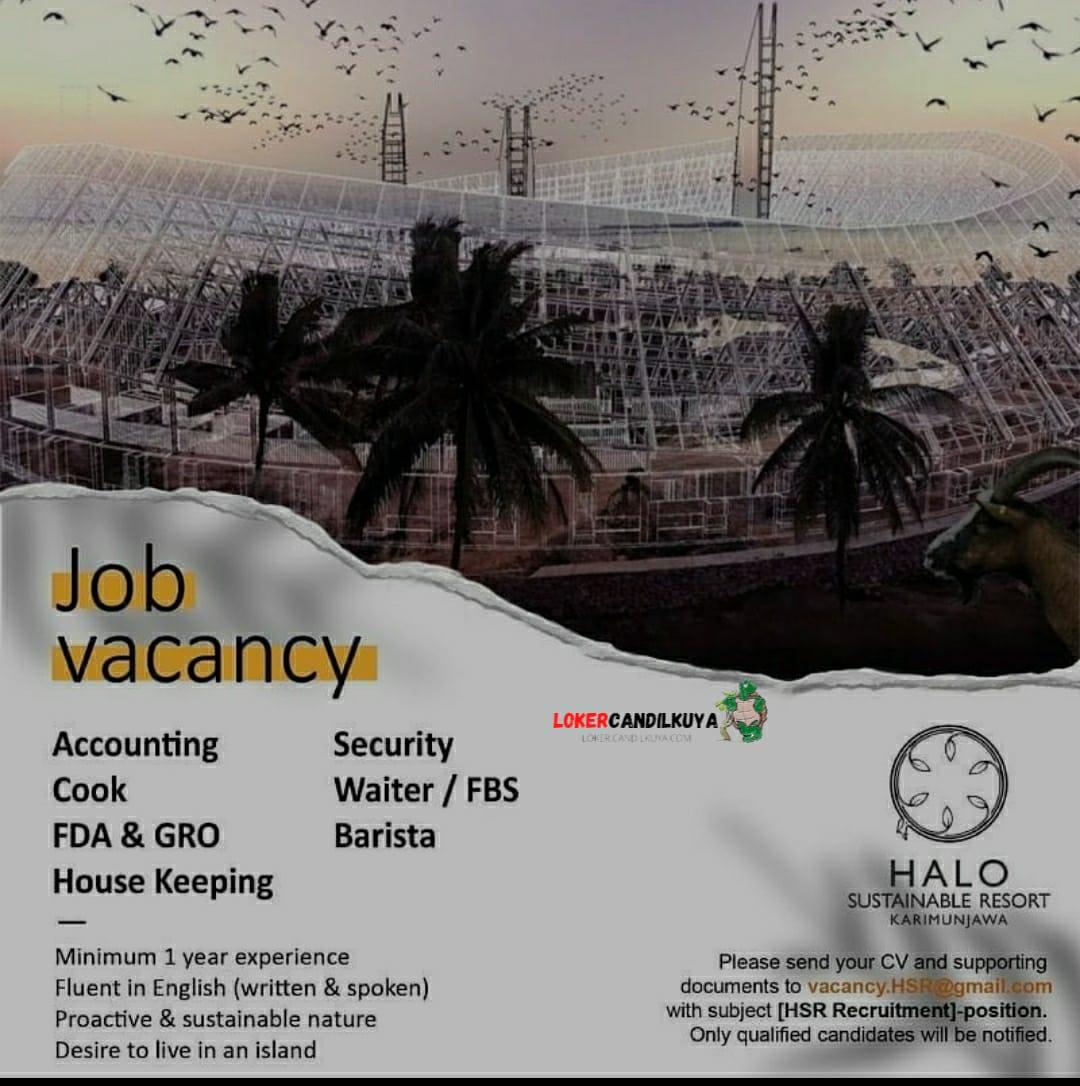 Lowongan Kerja Hotel Halo Sustainable Resort Karimunjawa