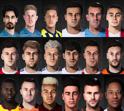 PES 2021 FacePack Converted from FIFA 22 by TheViper12