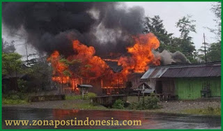 Mantan Bupati Yahukimo Meninggal di Jakarta, Kota Dekai Membara, Belasan Rumah dan Ruko Dibakar
