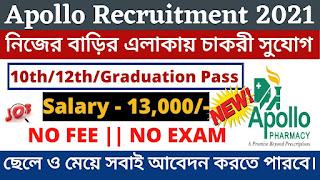 Apollo Recruitment 2021 | Jobs In Kolkata 2021 | Private Jobs Kolkata | Apply Now