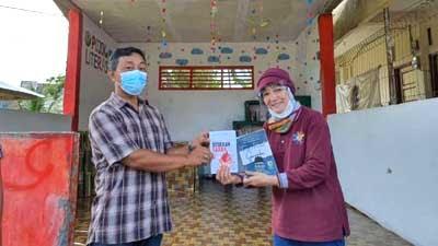DPL KKN Unand Resmikan Pojok Literasi di Kelurahan Pisang