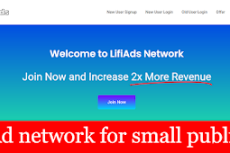 Lifi ads ad network for small publisher