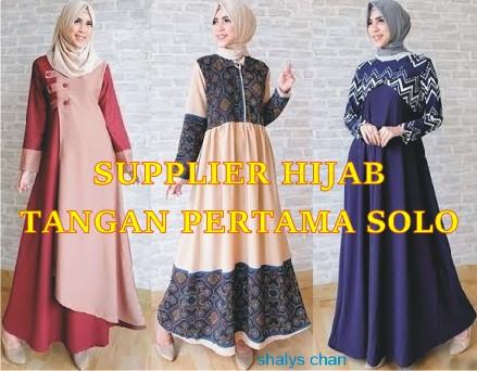 Supplier Tangan Pertama Hijab Style Langsung dari Konveksi Solo