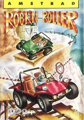 Portada videojuego Rock'n Roller - Topo Soft (1988)