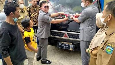 Wako Ahmadi - Wawako Antos Lepas Ekspor Perdana Kacang Sacha Inchi