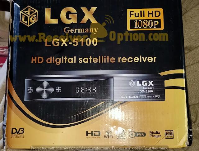 LGX GERMANY LGX-5100 HD RECEIVER ORIGINAL DUMP FILE