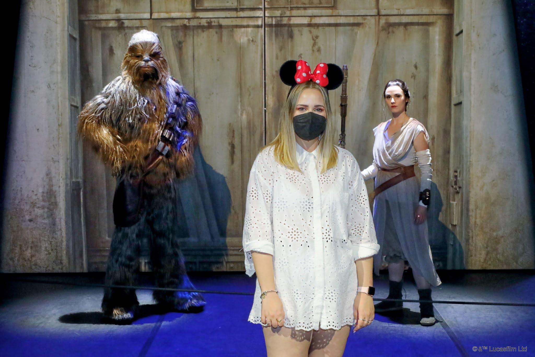 Meet Chewbacca y Rey Disneyland Paris