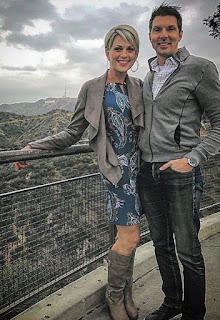 amie Yuccas with her ex-boyfriend Booby