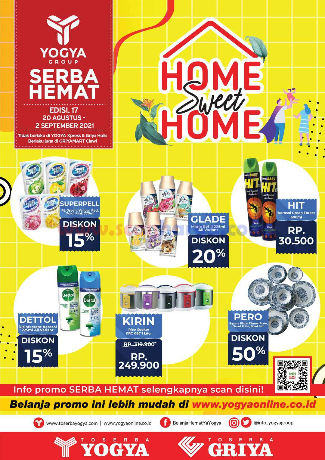 Katalog Promo Toserba Yogya 20 Agustus - 2 September 2021