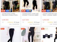 Harga Celana Legging Hamil di Shopee
