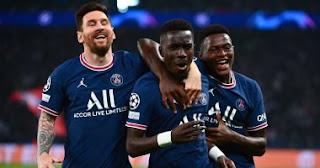 باريس سان جيرمان يفوز على مانشستر سيتي بهدفين في الجولة الثانية ، ويسجل ميسي الهدف الأول لة