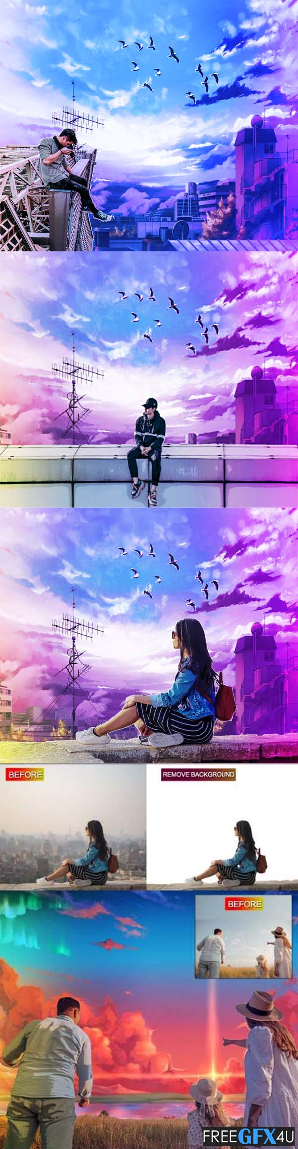 Anime Style Photoshop Action