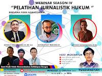 Yuk Tongkrongin Bersama Media Ceo Group, Akan Gelar Webinar #NgomonginMedia Dengan Tema : Pelatihan Jurnalistik Hukum