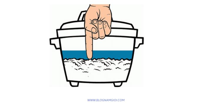 Canh nước nấu cơm