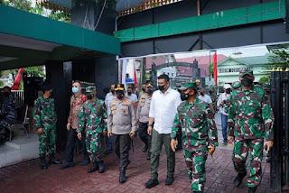 Berkat Dukungan Penuh TNI-Polri,  Bobby Harapkan Bisa Bawa Medan ke PPKM Level 1