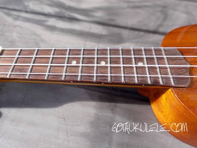 Ohana TPK-25G Sopranino ukulele neck