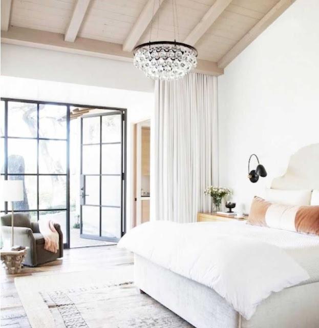 bedroom chandelier ideas