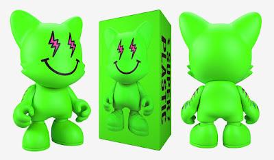Neon Dreamz Janky Vinyl Figure by J. Balvin x Superplastic